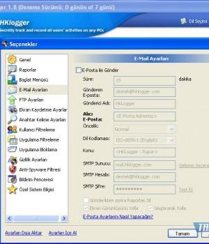 HKLogger Ekran Görüntüleri - 1
