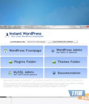 Instant Wordpress Ekran Görüntüleri - 1