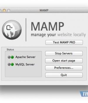 MAMP Ekran Görüntüleri - 1