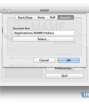 MAMP Ekran Görüntüleri - 3