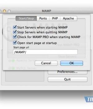 MAMP Ekran Görüntüleri - 2