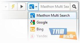 Maxthon 3 Ekran Görüntüleri - 2