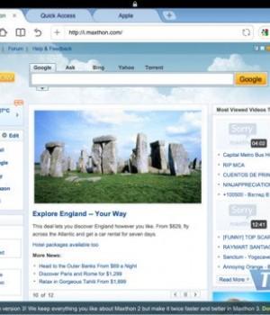 Maxthon Web Browser Ekran Görüntüleri - 2