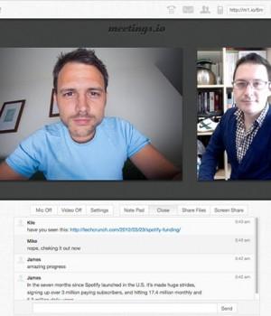 Meetings.io Ekran Görüntüleri - 1