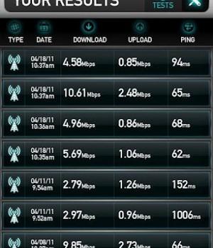 Mobile Speed Test Ekran Görüntüleri - 1