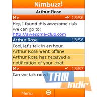 Nimbuzz - Nokia Ekran Görüntüleri - 1