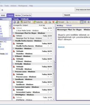 Omea Reader Ekran Görüntüleri - 2