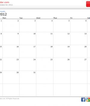 Print a Calendar Ekran Görüntüleri - 1
