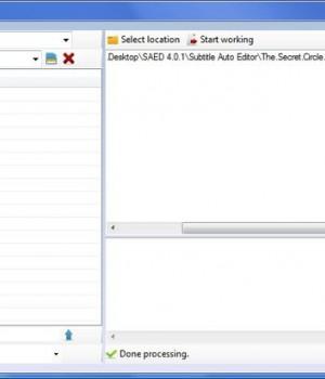 Subtitle Auto Editor Ekran Görüntüleri - 1