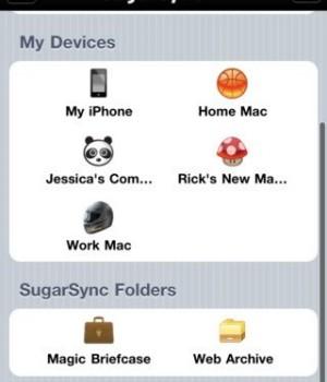 SugarSync Ekran Görüntüleri - 2