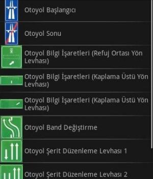 Trafik İşaretleri Ekran Görüntüleri - 1
