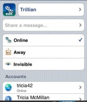 Trillian Ekran Görüntüleri - 3