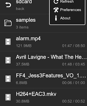 VPlayer Video Player Ekran Görüntüleri - 1