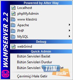 WampServer Ekran Görüntüleri - 2