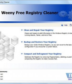 Weeny Free Registry Cleaner Ekran Görüntüleri - 1