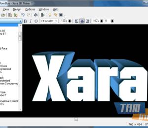 Xara 3D Maker Ekran Görüntüleri - 1