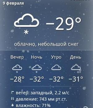 Yandex.Weather Ekran Görüntüleri - 2