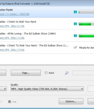 YouTube to iPod Converter Ekran Görüntüleri - 1