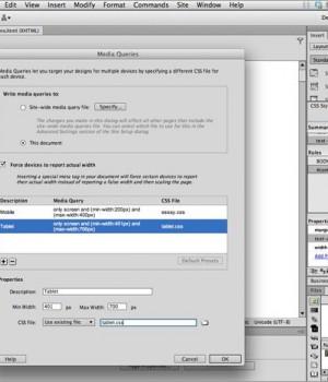 Adobe Dreamweaver Ekran Görüntüleri - 3