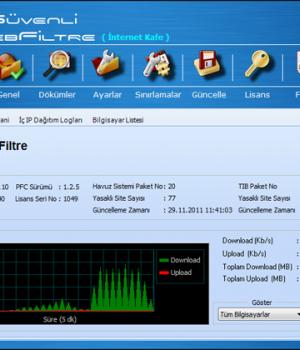 Güvenli WebFiltre Pro Ekran Görüntüleri - 1