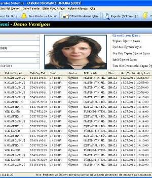 Hursoft Dershane Öğrenci Geçiş Programı Ekran Görüntüleri - 1