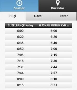 İzmir Ulaşım Rehberi Ekran Görüntüleri - 2