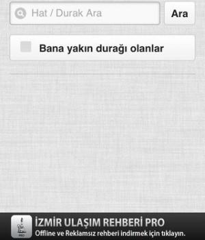 İzmir Ulaşım Rehberi Ekran Görüntüleri - 1