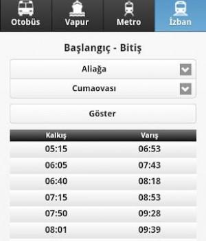 İzmir Ulaşım Rehberi Ekran Görüntüleri - 3