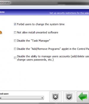 Kids PC Time Administrator Ekran Görüntüleri - 1