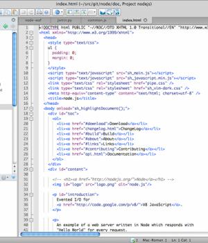 Komodo Edit Ekran Görüntüleri - 1