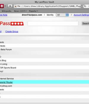 LastPass for Safari Ekran Görüntüleri - 4