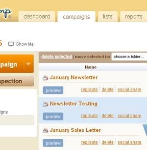 MailChimp Ekran Görüntüleri - 2
