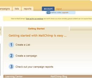 MailChimp Ekran Görüntüleri - 1