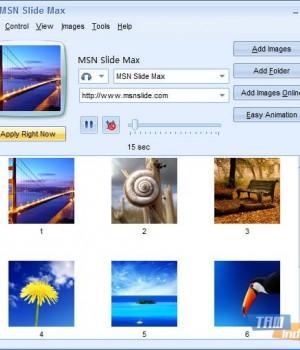 MSN Slide Max Ekran Görüntüleri - 1
