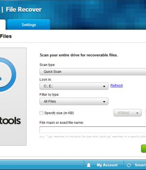 PC Tools File Recover Ekran Görüntüleri - 1