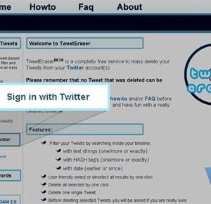 TweetEraser Ekran Görüntüleri - 1