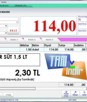 Ücretsiz Market Programı Ekran Görüntüleri - 1