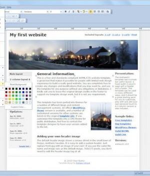 WYSIWYG Web Builder Ekran Görüntüleri - 1