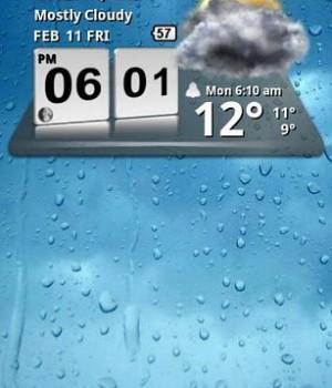 3D Digital Weather Clock Ekran Görüntüleri - 2