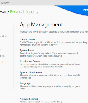 Ad-Aware Personal Security Ekran Görüntüleri - 5