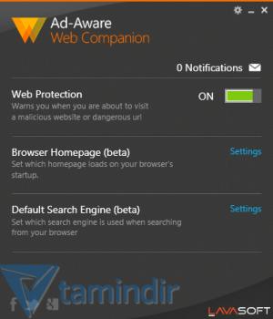 Ad-aware Web Companion Ekran Görüntüleri - 1