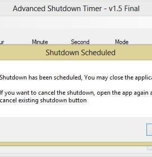 Advanced Shutdown Timer Ekran Görüntüleri - 1