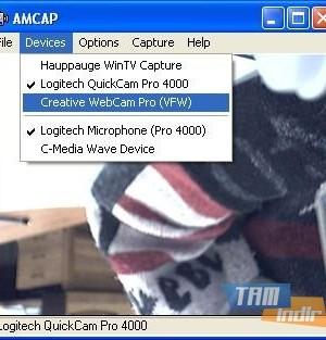 AMCap Ekran Görüntüleri - 1