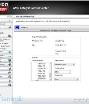 AMD Catalyst Ekran Görüntüleri - 6