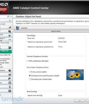 AMD Catalyst Ekran Görüntüleri - 4