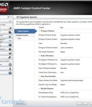 AMD Catalyst Ekran Görüntüleri - 2