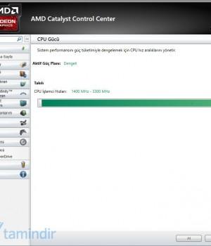 AMD Catalyst Ekran Görüntüleri - 1