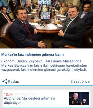 Anadolu Ajansı Ekran Görüntüleri - 4