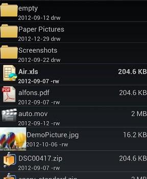 AndroZip Pro File Manager Ekran Görüntüleri - 4
