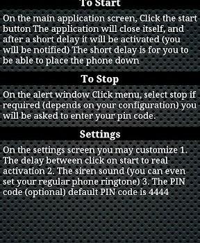 Anti-Theft Alarm Ekran Görüntüleri - 1